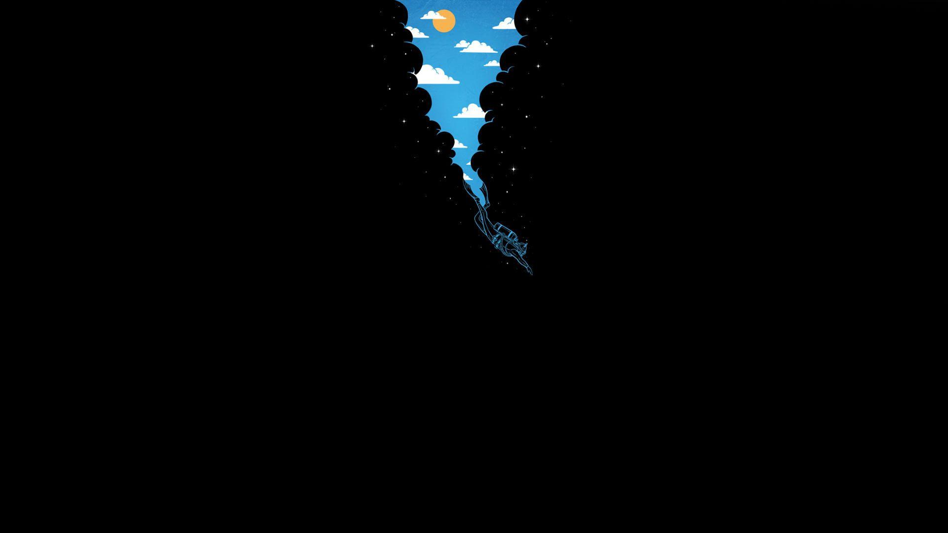 Wallpaper steine herz  Sky, sun, clouds, darkness, star diver depth, clearance | Baldr ...