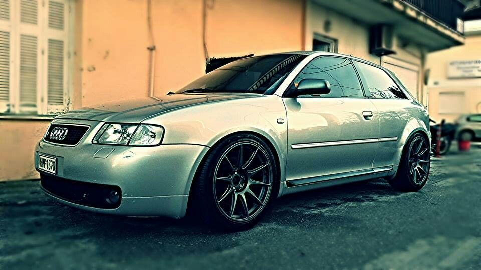 audi s3 8l with xxr wheels gun metal audi s3 8l pinterest guns wheels and audi a3. Black Bedroom Furniture Sets. Home Design Ideas