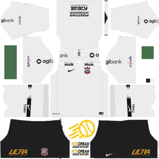 Camisetas Corinthians Dream League Soccer 2018 Corintians