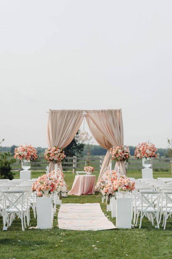 14 Amazing Outdoor Wedding Decorations Ideas | Weddings, Wedding ...