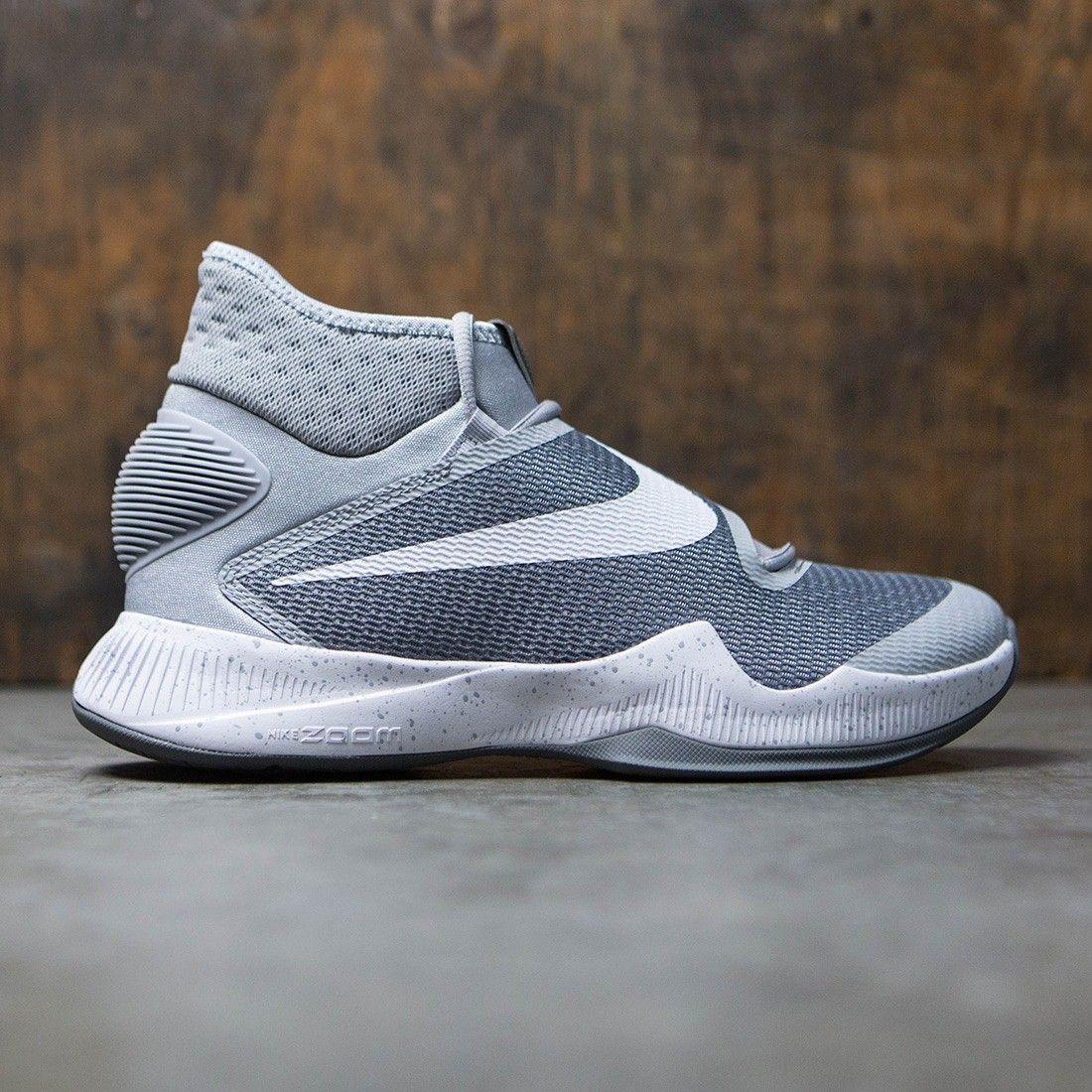 b2ee1a169f7e Nike Men Zoom Hyperrev 2016 Basketball (wolf grey   white-cool grey ...