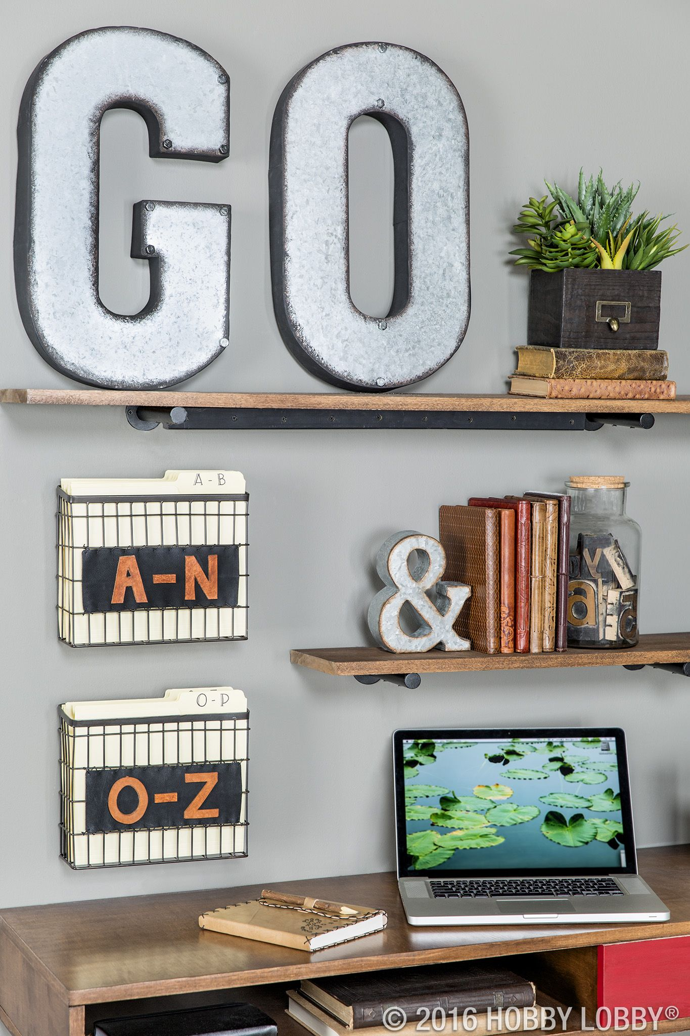 Galvanized Metal Letter Wall Decor A Metal Letter Wall Decor Metal Wall Letters Diy Home Decor On A Budget
