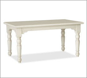 Similar to our table now...if I painted it white. :)