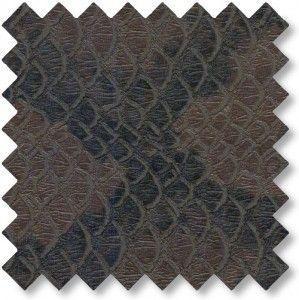 Imiteret+slangeskind+Brun++85%+POLYESTER,+15%+POLYURETAN Bredde:+130+cm. +-+stof2000.dk