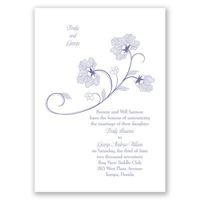 Floral detail wedding invitation nature inspired at invitations by floral detail wedding invitation nature inspired at invitations by dawn sciox Gallery