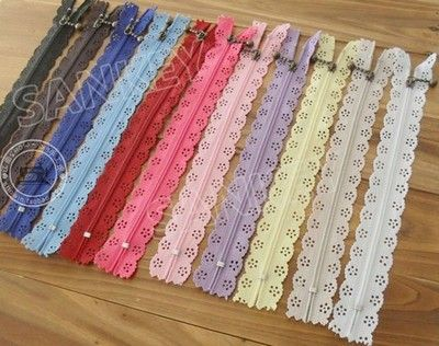 lace zippers cheaper