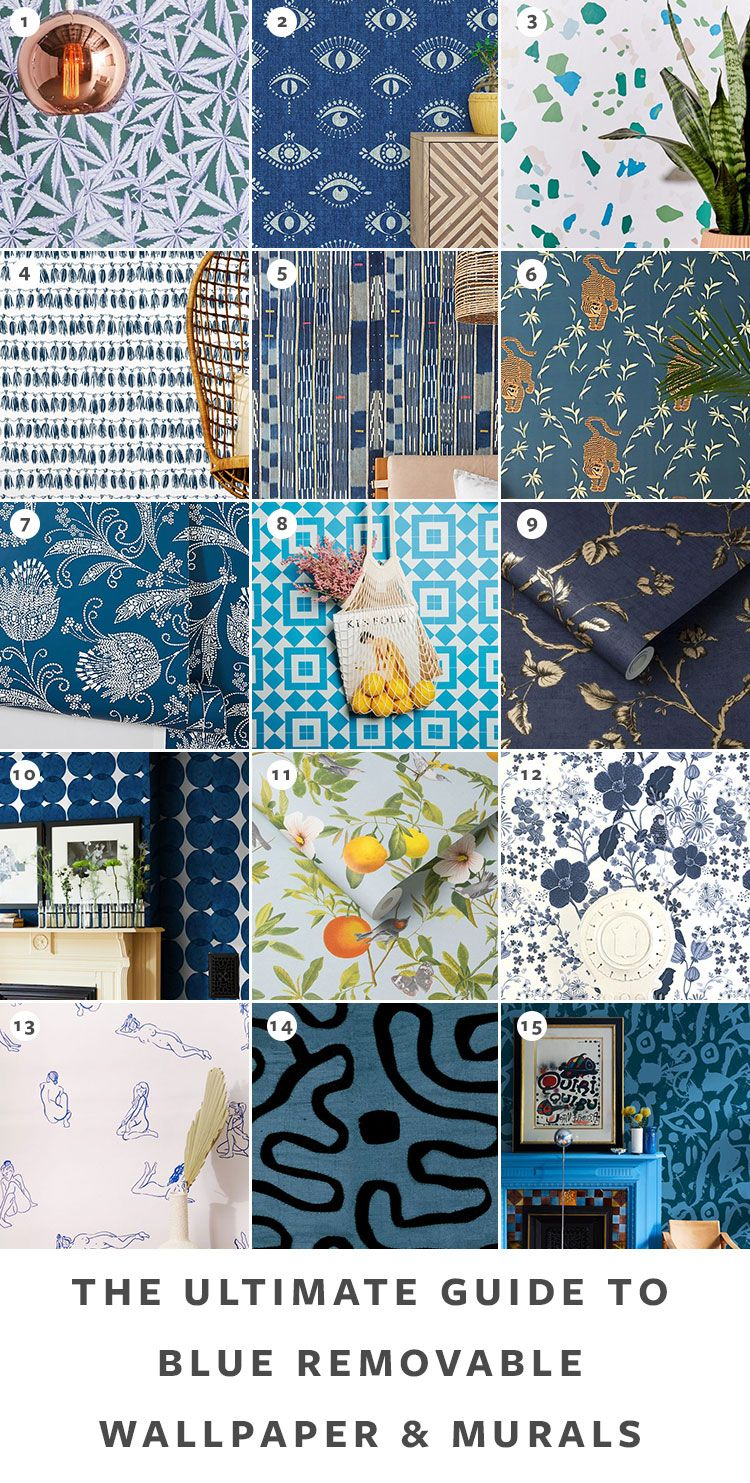 The Ultimate Guide To Removable Wallpaper The Best Patterns Removable Wallpaper Eclectic Wallpaper Grey Removable Wallpaper