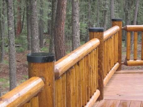 Protective Metal Log Post Caps Wood Fence Post Fence Post Caps