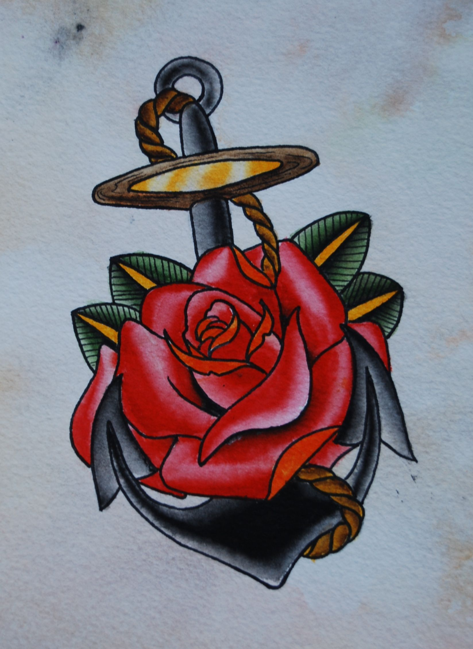 Pin By Ana Marie On Tatoo In 2020 Anchor Tattoo Design Red Rose Tattoo Rose Tattoos For Men