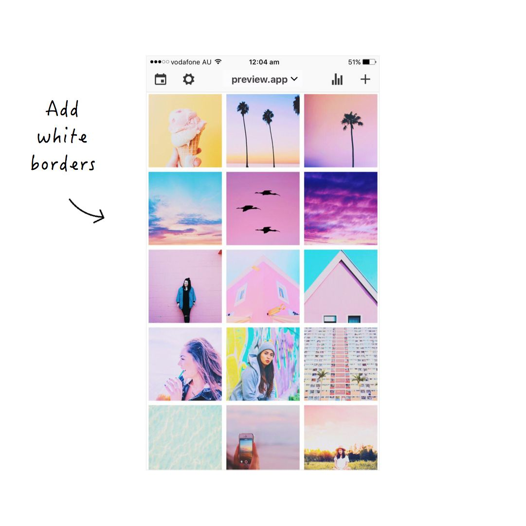 How to Make a Pastel Instagram Theme using Preview App - Preview App |  Instagram theme, Instagram theme ideas color schemes, Pastel color  background