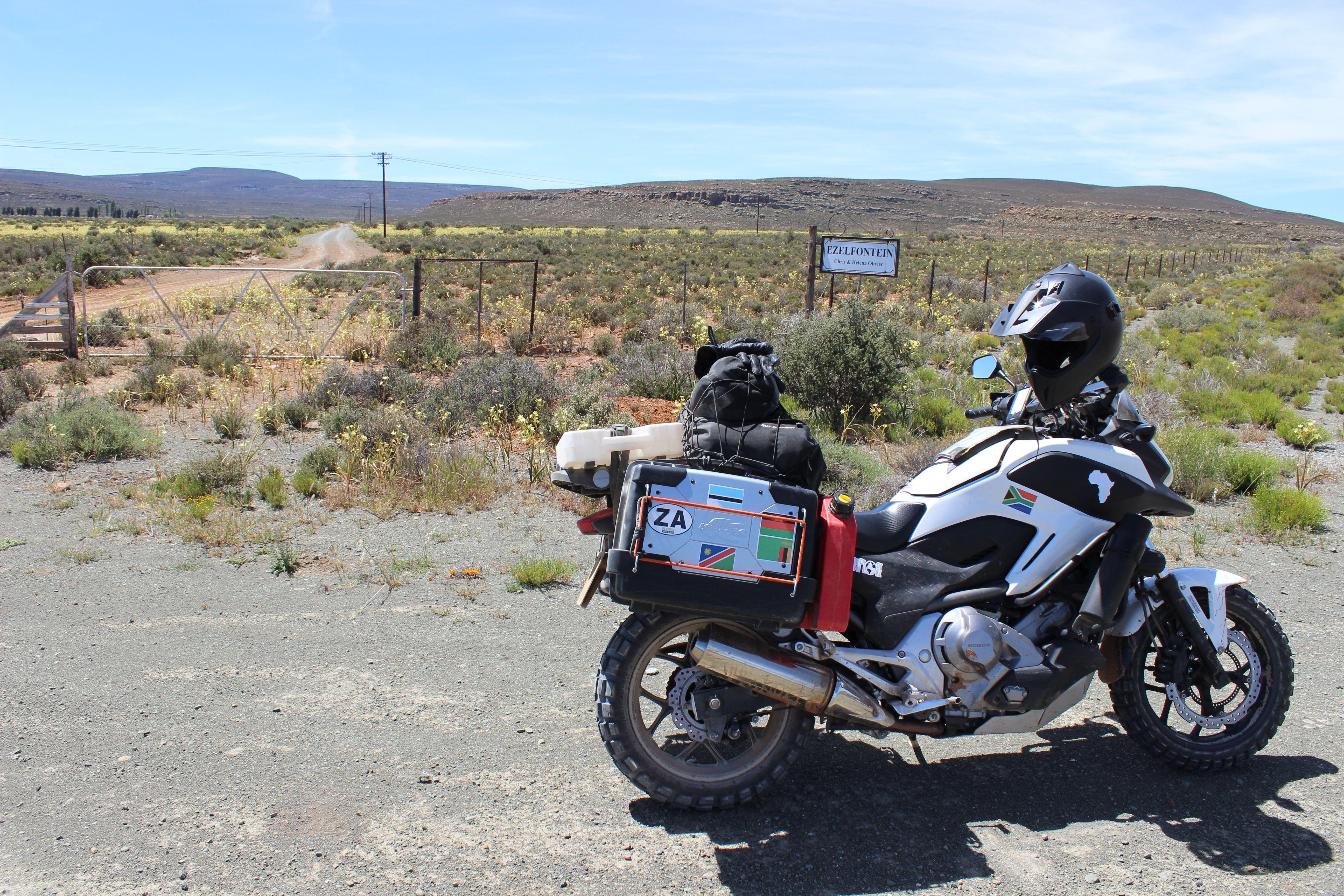 honda nc700x dct overland cape to kenya | honda nc700x dct