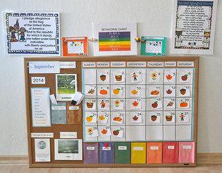 Changes To Our Calendar Bulletin Board Preschool Calendar