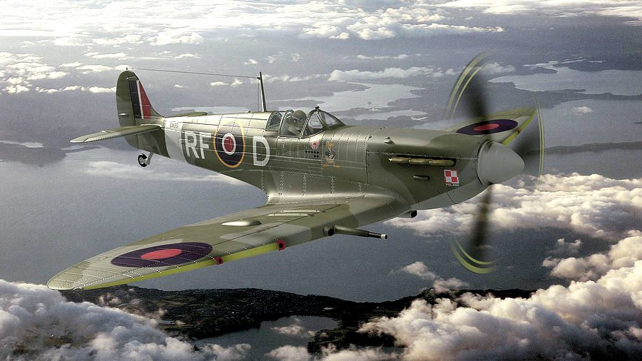 Spitfire MkV of the 303 squadron | Aviones/planes | Pinterest ...