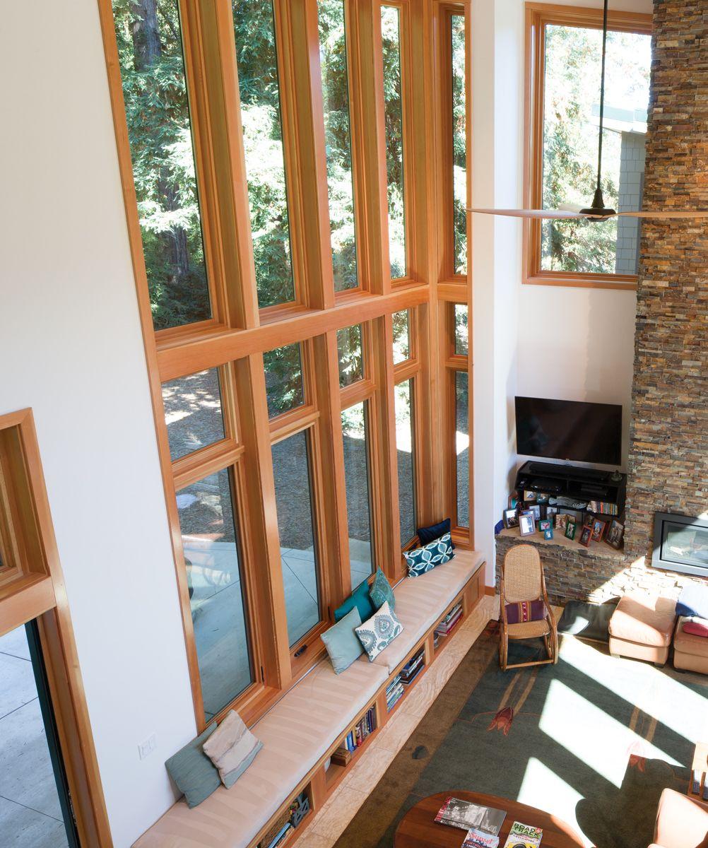 Essence Series Windows Natural Wood Interior And Strong Fibergl Exterior
