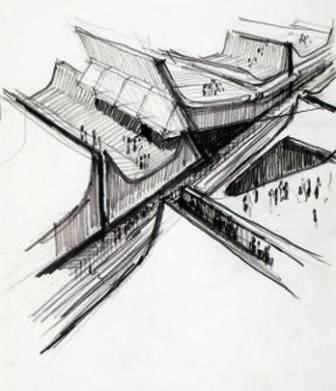 Architecture principe claude parent paul virilio sans for Parent architecte