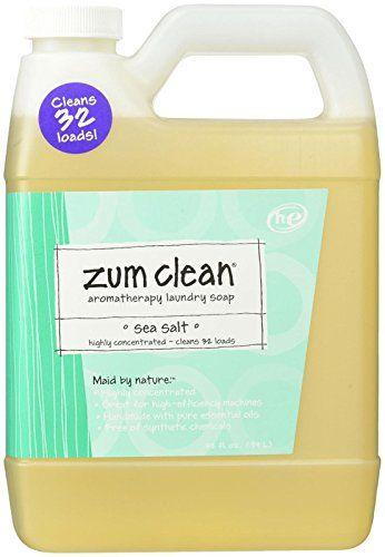 Indigo Wild Zum Clean Laundry Soap Sea Salt 32 Fluid Ounce Read
