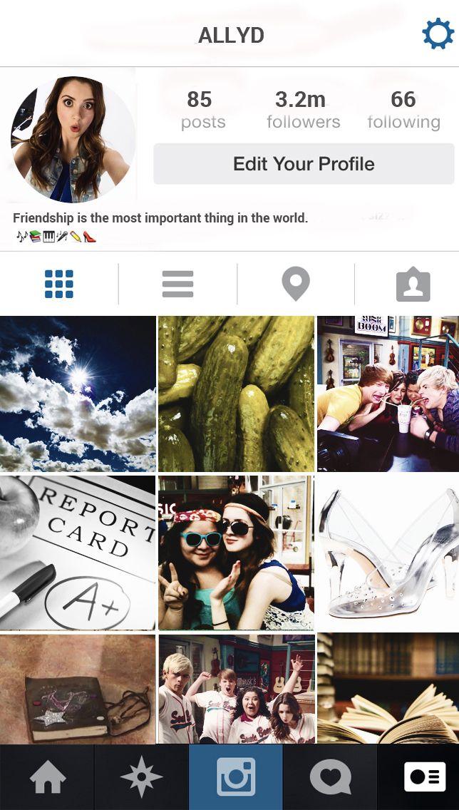Ally//Instagram *TumblrCredit