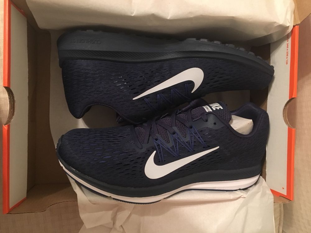 a90a112834061 Nike Zoom Winflo 5 men s sneakers shoes size 11 NIB MIDNIGHT NAVY AA7406-401   Nike  RunningShoes. Find this Pin and ...