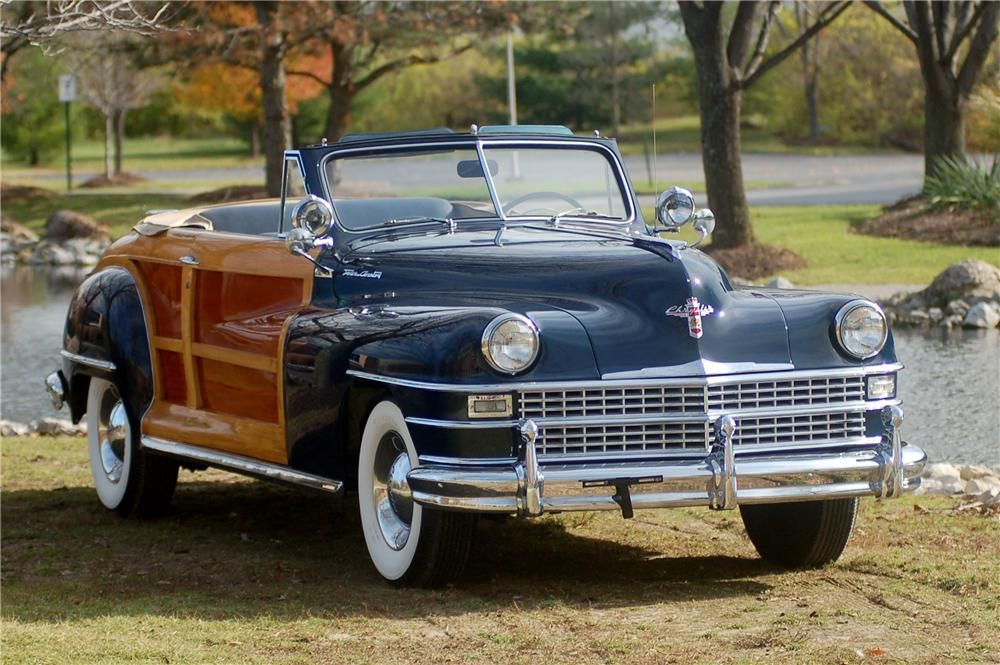 1947 Chrysler Town & Country Convertible | Vintage Cars | Pinterest ...