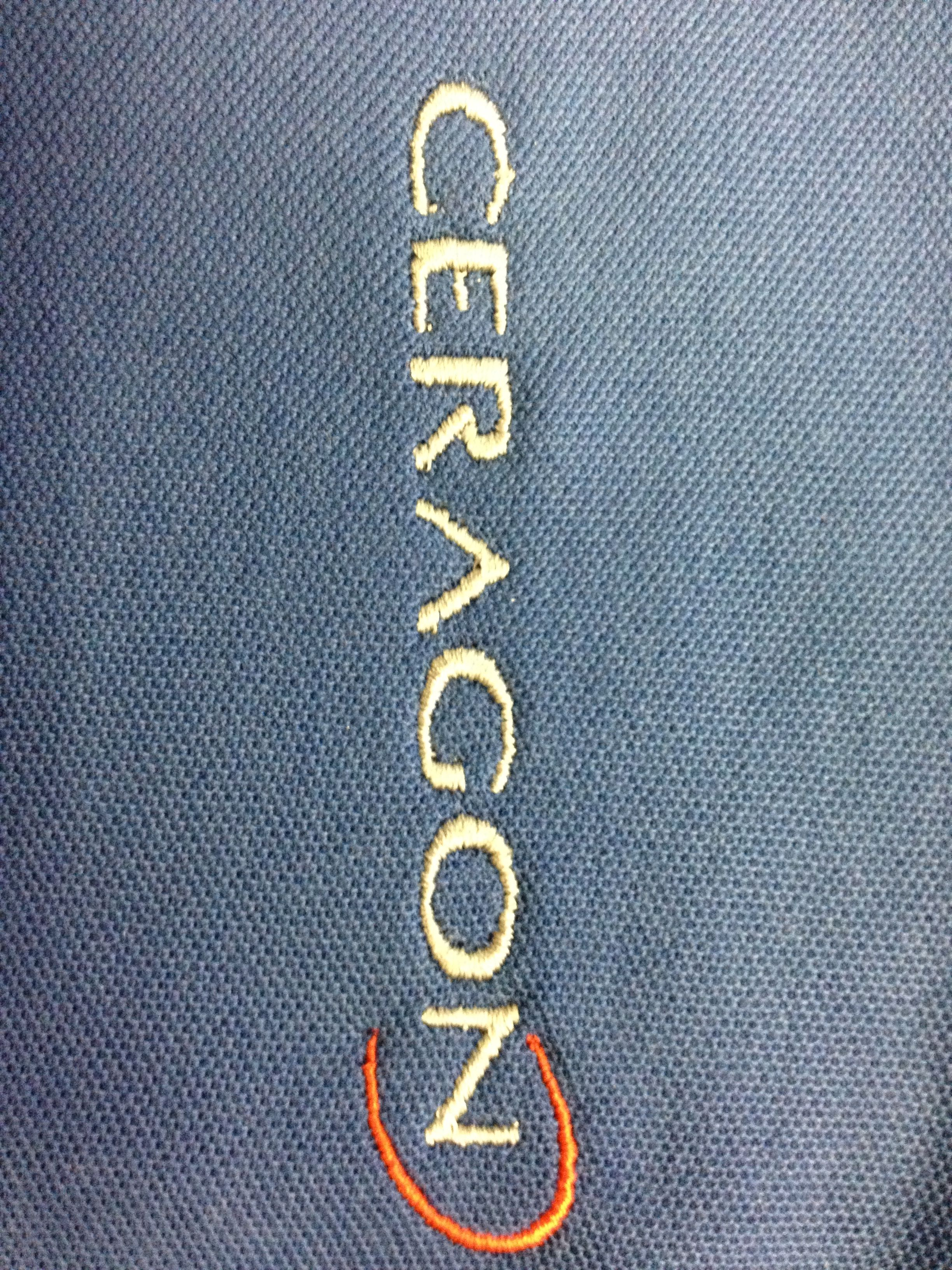 Embroidery is perfect for business promotions and uniforms.