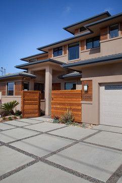 Concrete Driveway Design Ideas, Pictures, Remodel, and Decor - page ...