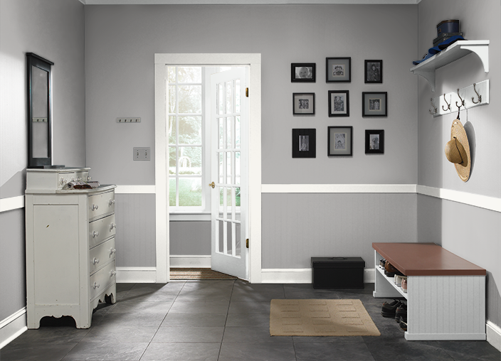 This Is The Project I Created On Behr Com I Used These Colors Poseidon S480 6 Cathedral Gray Ppu18 14 Polar Be Behr Paint Colors Master Bedroom Colors Home