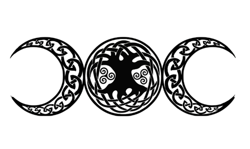 Wiccan Triple Goddess Tattoo |hooray # tattoos # celtic
