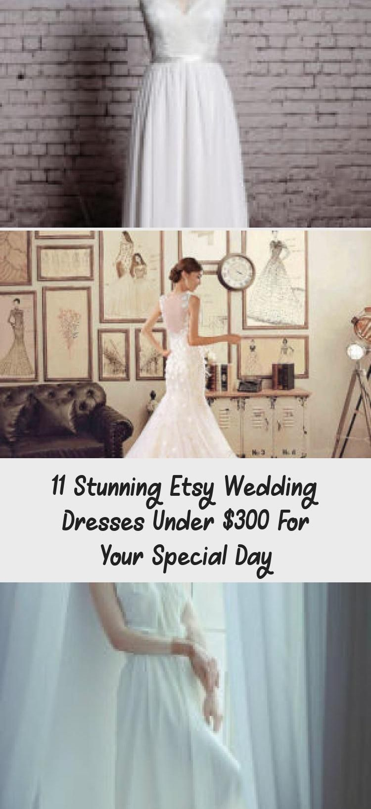 20 Stunning Etsy Wedding Dresses Under $20 For Your Special Day ...