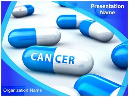 Cancer Treatment Medicine Powerpoint Template For Powerpoint