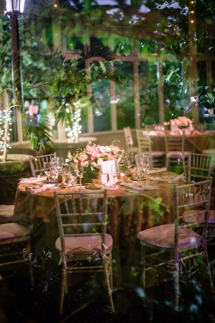 Botanical Garden Style Brooklyn Wedding Wedding Reception Ideas