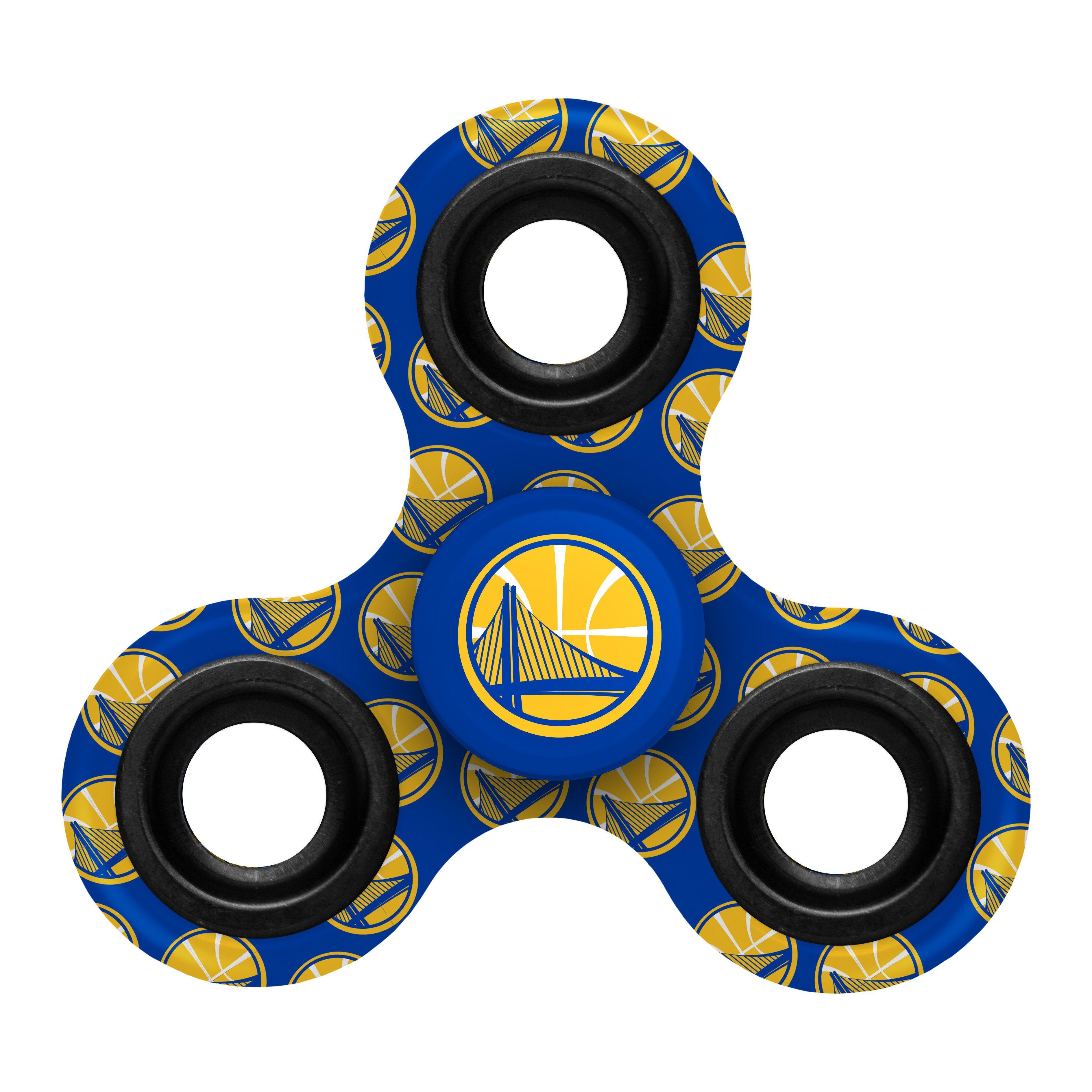 Golden State Warriors Nba Fidget Diztracto Spinner Three