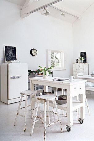 white, all white, interior, wit, light, licht, interieur, decoration ...