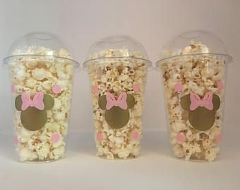Minnie Mouse party favor bags, Minnie Mouse Party Favors, Minnie Mouse party Cups, Minnie Mouse Birthday Party Cups, Minnie Mouse favors