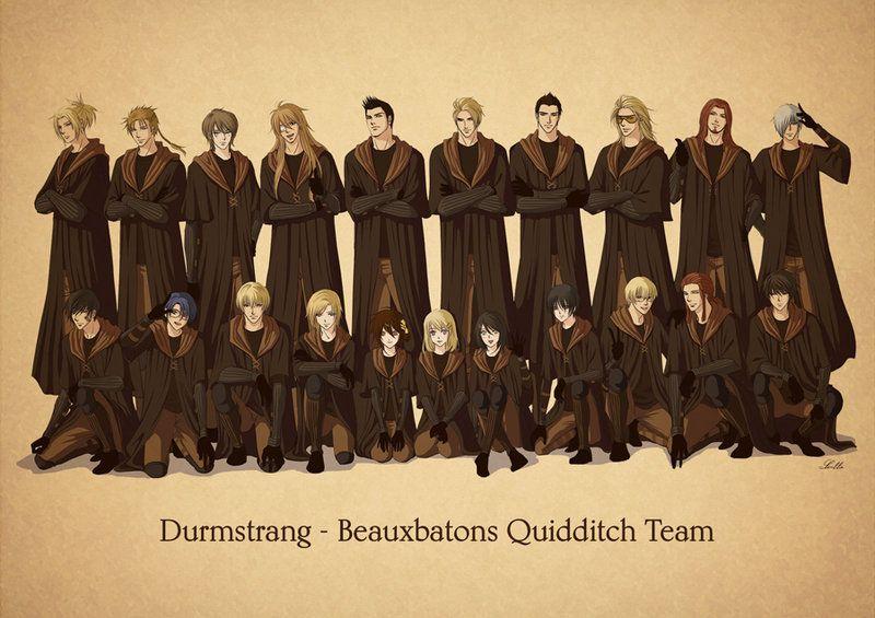 Durmstrang Beauxbatons Quidditch Team By Lul Lulla Deviantart Com On Deviantart Quidditch Magical World Of Harry Potter Harry Potter Magic L'accademia di beauxbatons ha una prevalenza di studenti francesi, nonostante sia frequentata anche da un gran numero di spagnoli, portoghesi, olandesi, lussemburghesi e be. durmstrang beauxbatons quidditch team