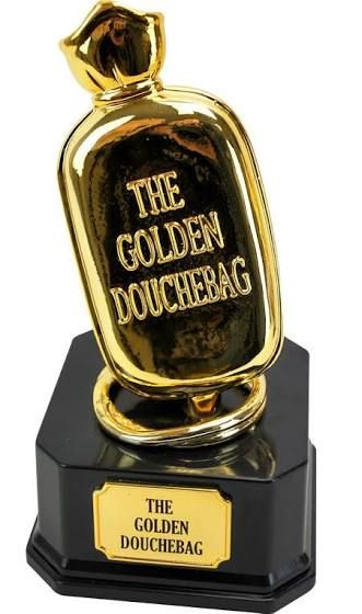 Loser Trophy Douchebag Fantasy Football Gifts Big Mouth Toys