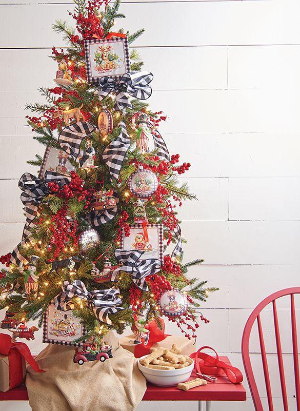 Camp Christmas Tabletop Christmas Tree By RAZ Imports ...