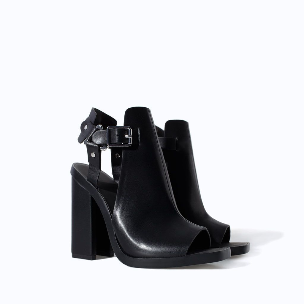 ZARA - NEW THIS WEEK - BLOCK HEEL SANDAL WITH BUCKLE