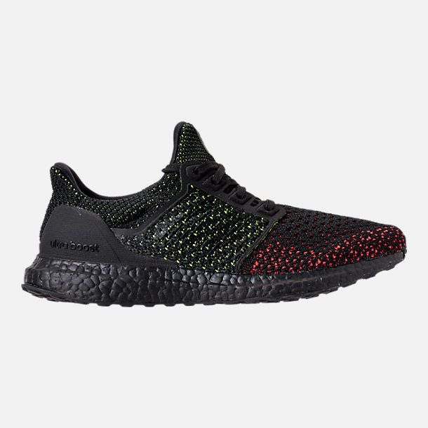 f98d92f8d3c Right view of Men s adidas UltraBOOST Clima Running Shoes in Core Black Solar  Red