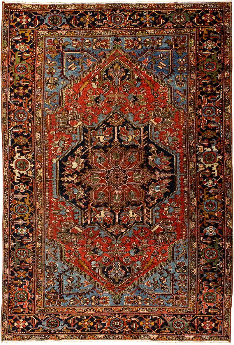 Iran Heriz Size 6 8 X 10 5 I Oscar Isberian Rugs Chicago Antique Persian Carpet Rugs On Carpet Rugs