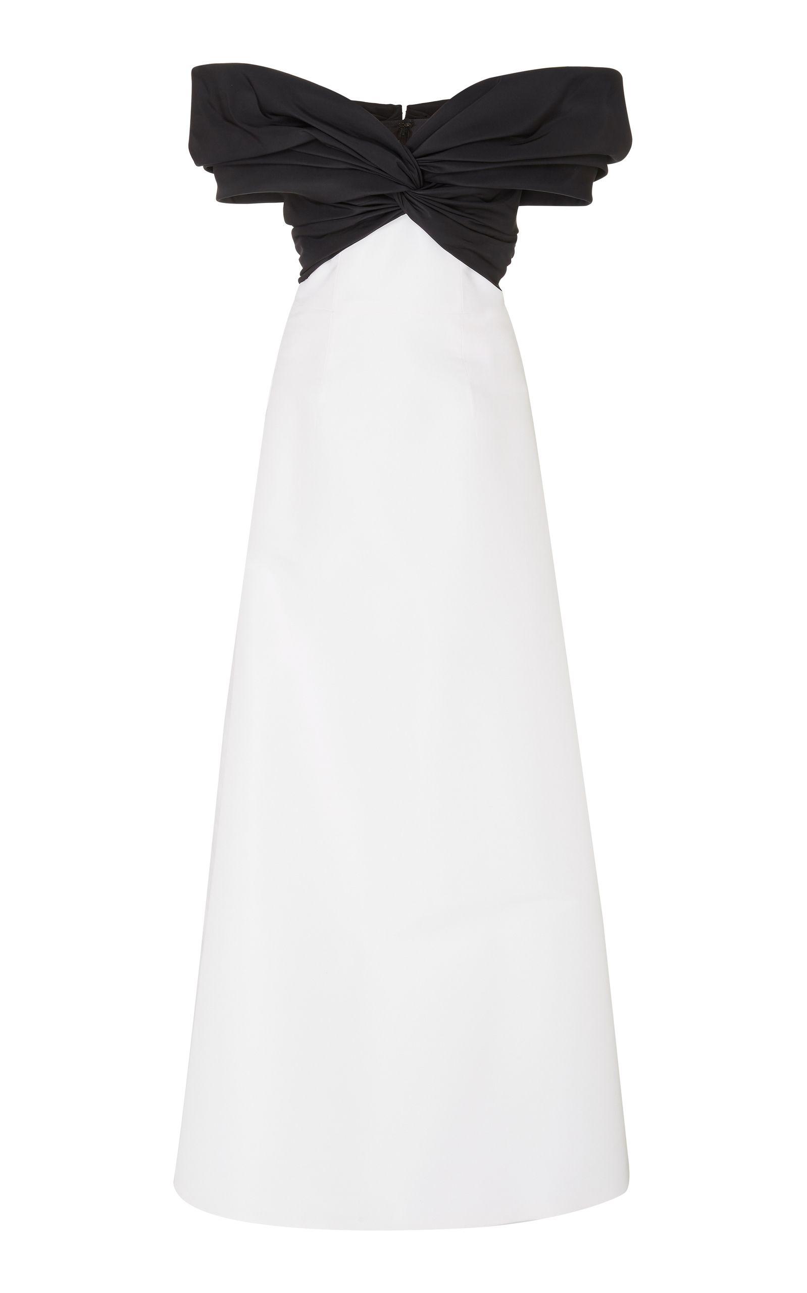 Carolina Herrera twisttie evening gown Find Great Sale Online ...