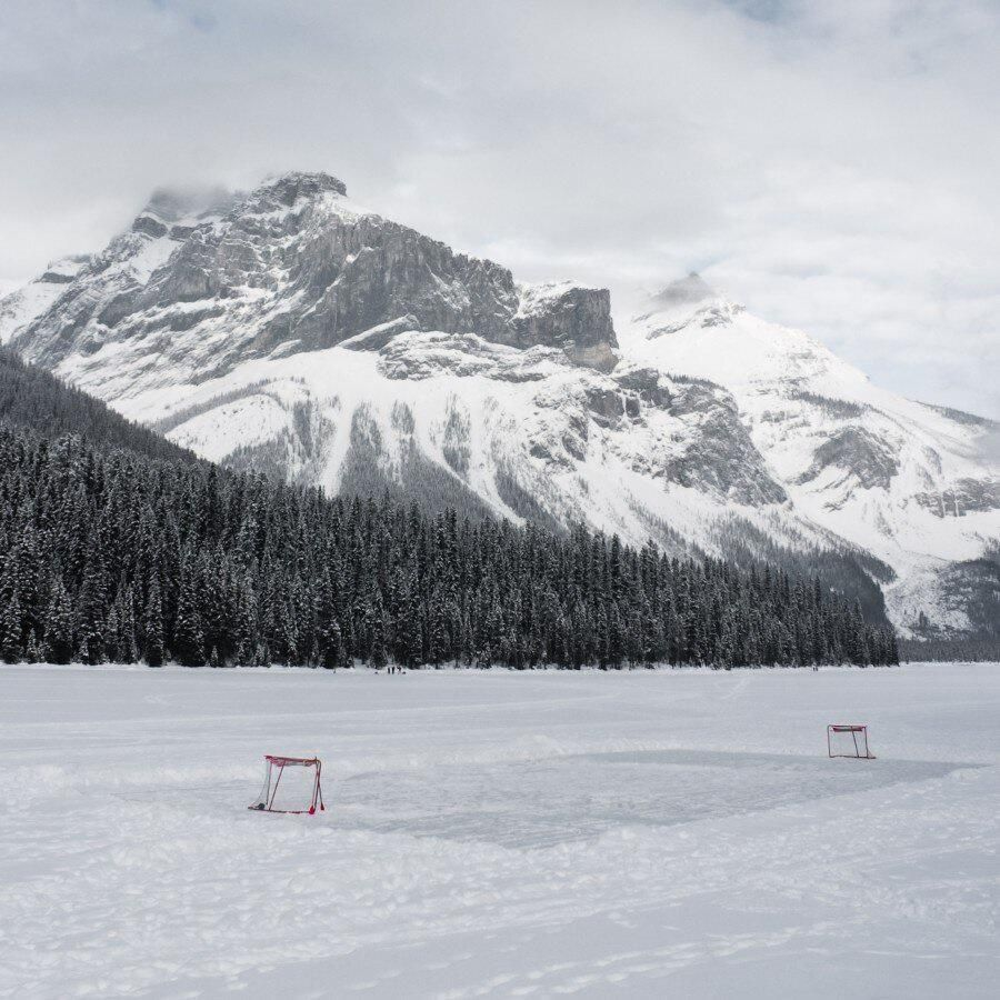 outdoor rink pond hockey where childhood are complete and best