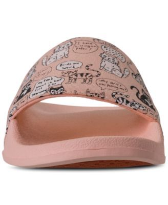 dfd68817c406 Skechers Women s Bobs Pop-Ups - Cat Chat Bobs for Dogs Slide Sandals from  Finish Line - Pink 10
