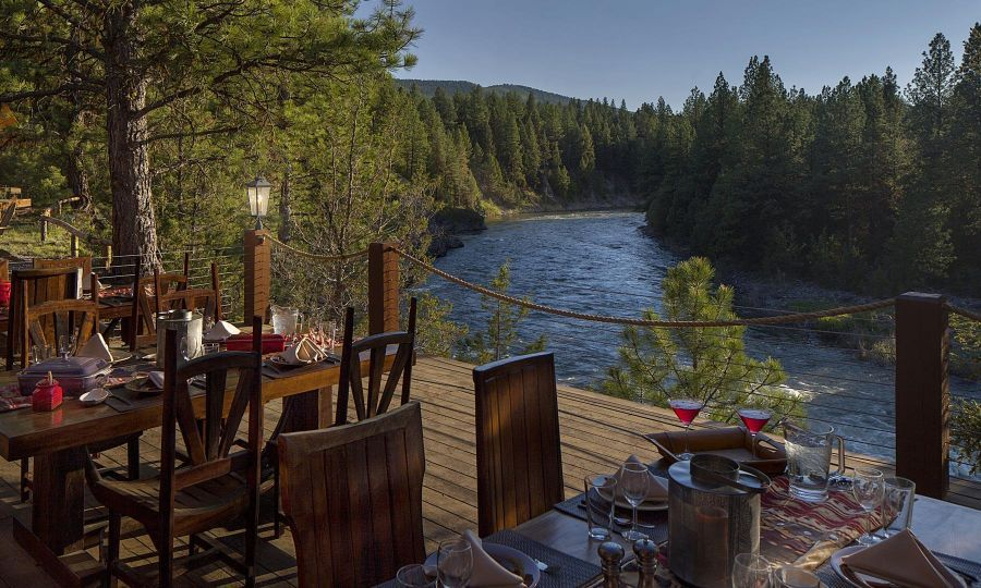 Luxury Camping and Glamping Paws Up Resort Dude ranch
