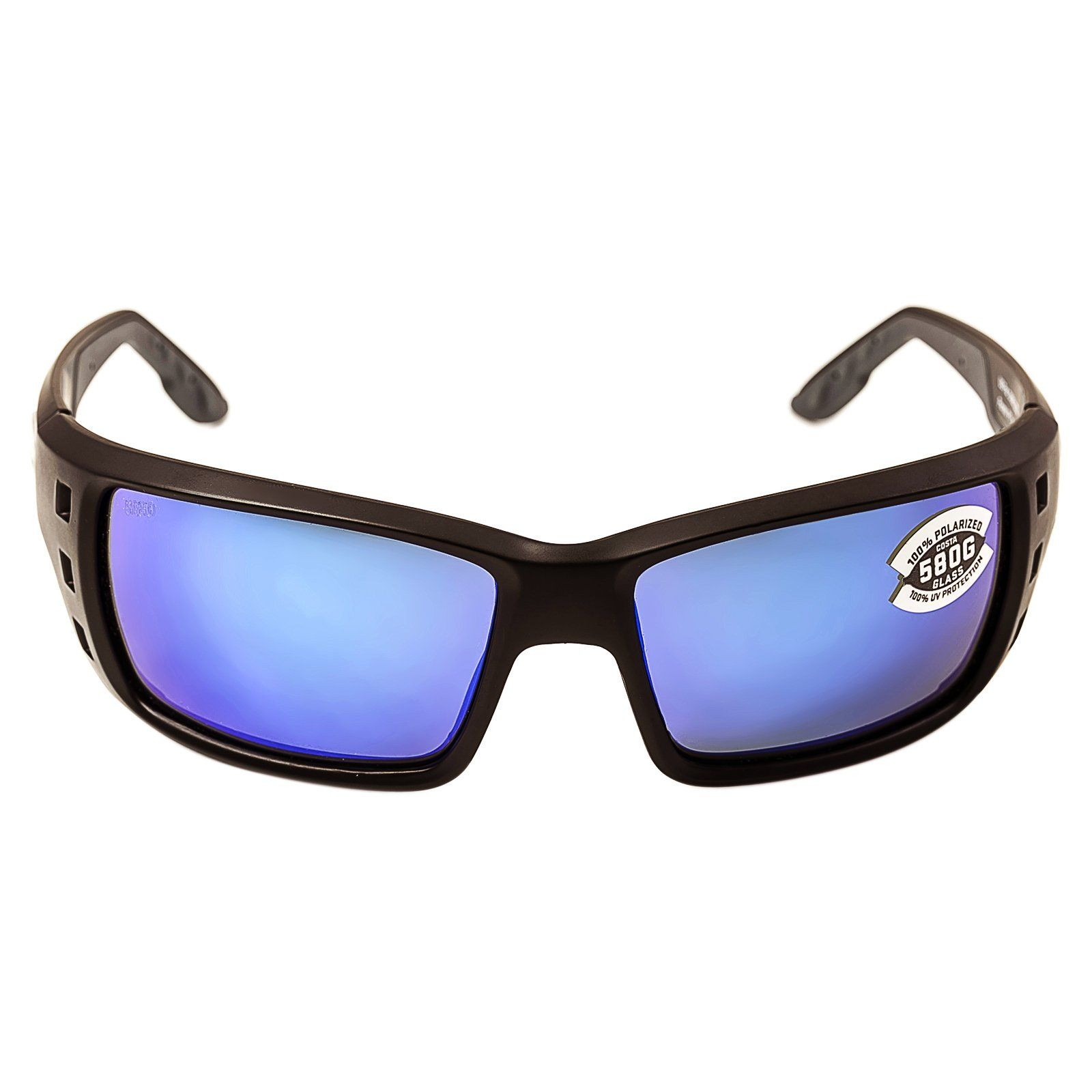 68f96f4f809 Costa Permit Polarized Sunglasses Costa 580 Glass Lens Matte Black Blue  Mirror One Size Mens -- Continue to the product at the photo web link.