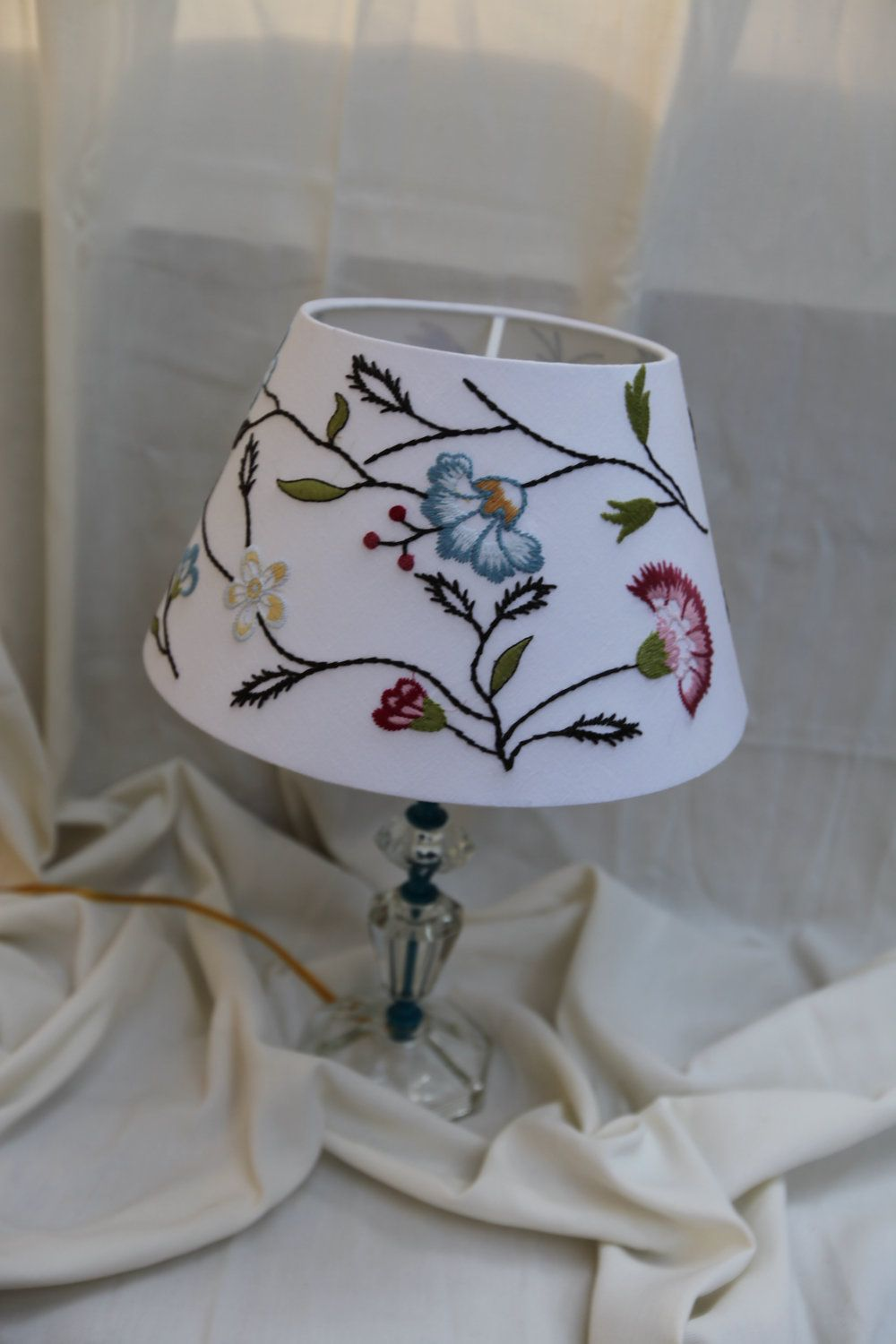 oval embroidery ceiling
