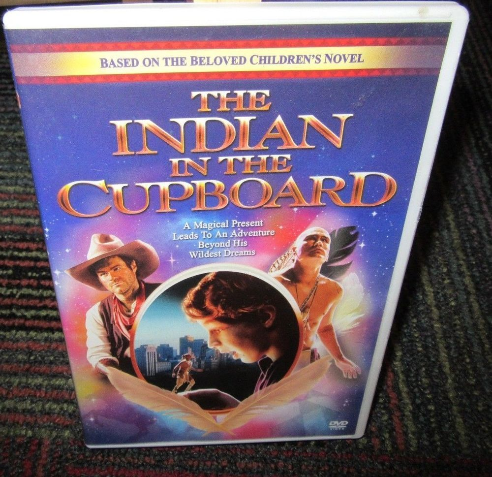 The Indian In The Cupboard Dvd Movie Hal Scardino Is Little Bear Based On Novel Indian In The Cupboard Kids Novels Gothic Books