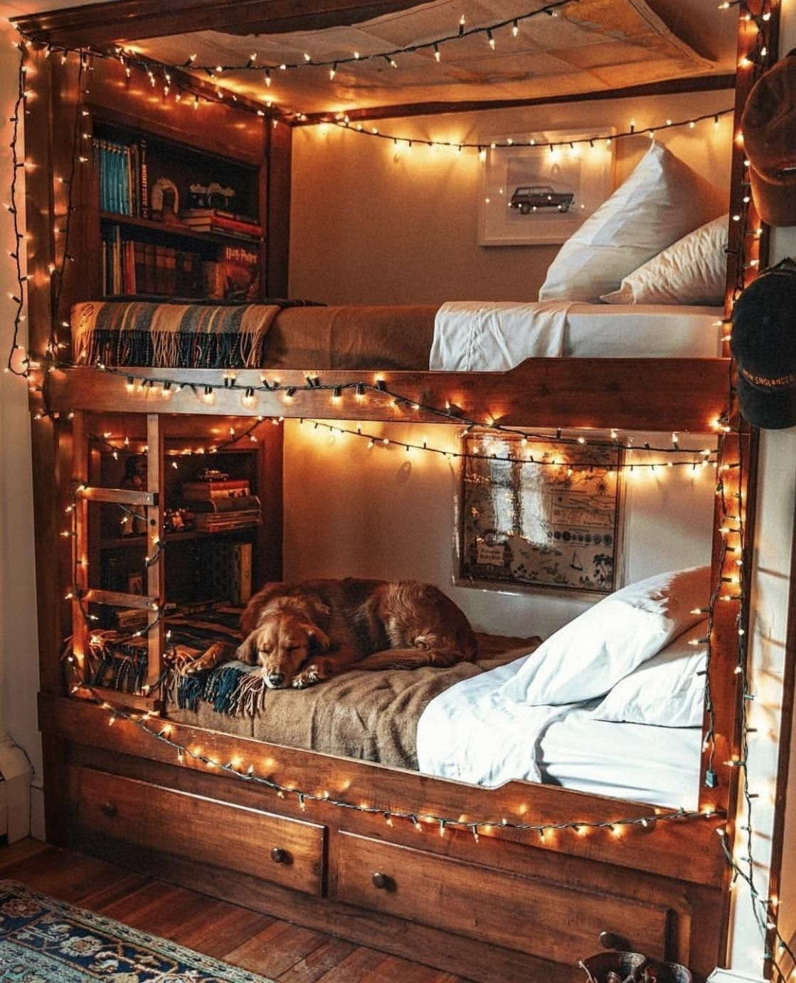 Fairy Lights Just Make Everything Better England Houses New