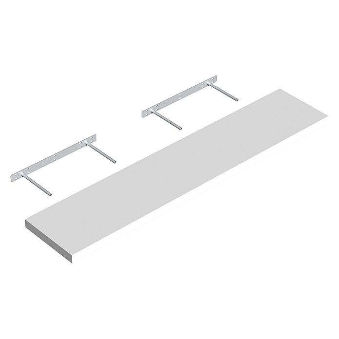 Regalux Wandboard Xl4 24 X 118 X 3 8 Cm Belastbarkeit 35 Kg Weiss 1260 Regalboden Holz Aafd Regalsysteme Aaf Re Wandboard Belastbarkeit Bauhaus