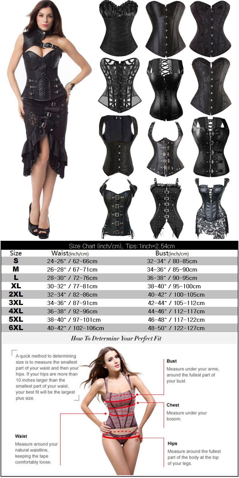 c4283f7def0 Shapewear 11530: Us Women Corset Bustier Top Lace Up Waist Training ...