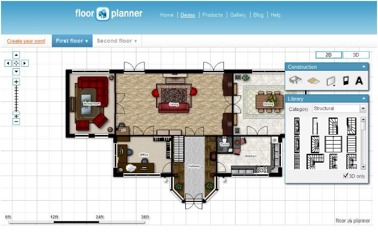 Top 15 Virtual Room Software Tools And Programs Floor Planner